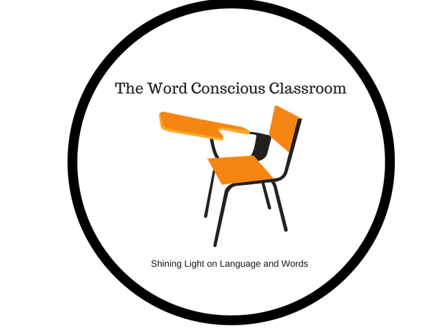 Logo for The Word Conscious Classroom